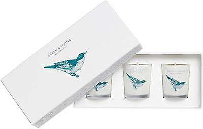 Green & Frühling Revitalising Travel Candle Set