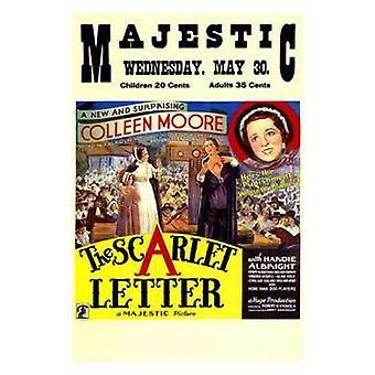 Scarlet Letter filmaffischen (11 x 17)