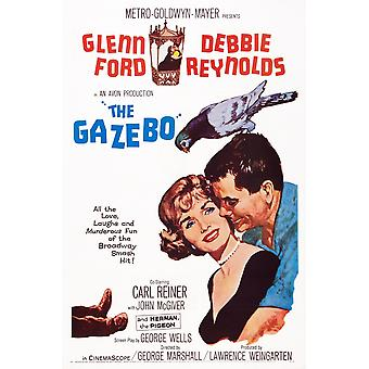 The Gazebo Us Poster Art From Left Debbie Reynolds Glenn Ford 1959 Movie Poster Masterprint