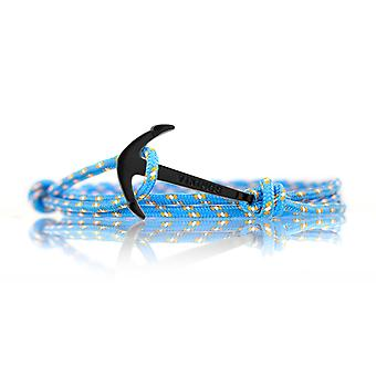 Vikings black-line anchor strap nylon in light blue with a black anchor