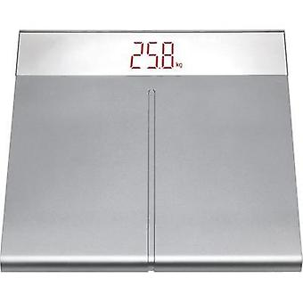 Digital bathroom scales TFA 50.1001.54 Weight range=150 kg Silver