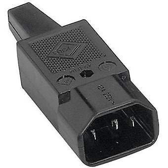 IEC connector C14 Series (mains connectors) 42R Plug, straight T
