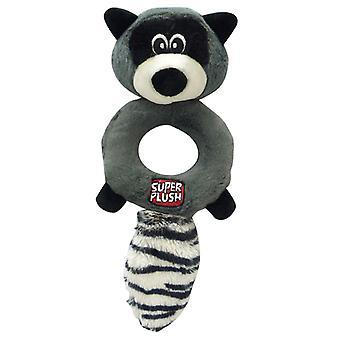 Super Plush Dynamos Ring Raccoon 25cm (Pack of 3)