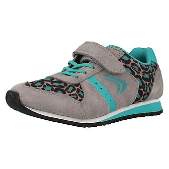 Girls Cica by Clarks Printed Trainers Super Go