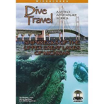 Skibsvrag i de øverste store søer af Michigan [DVD] USA importerer