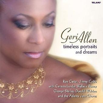 Geri Allen - importación USA retratos atemporales y sueños [CD]