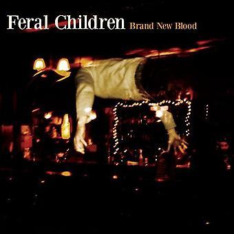 Vildtlevende børn - helt nyt blod [CD] USA importerer