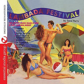 Sand part - Lambada Festival [CD] USA import