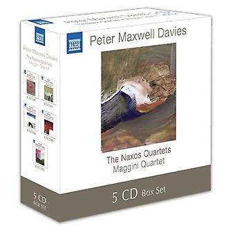 P.M. Davies - Peter Maxwell Davis: Naxos kvartetter [CD] USA import