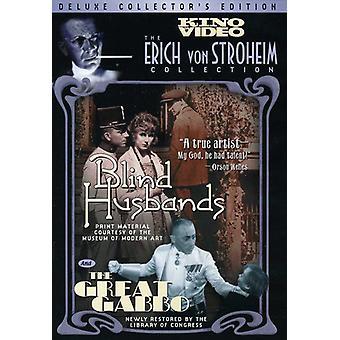 Blind Husbands/Great Gabbo [DVD] USA import