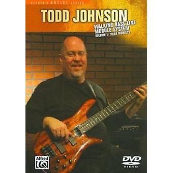 Todd Johnson - Walking bas linje modul System 2: Skala moduler [DVD] USA import