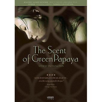 Aroma de la importación de los E.e.u.u. de la Papaya verde [DVD]