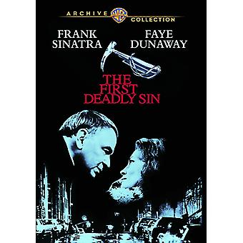 First Deadly Sin [DVD] USA import