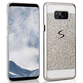 Samsung Galaxy S8 Plus Flash Diamond Case Silver