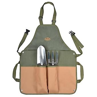 Fallen Fruits Apron with Trowl and Fork