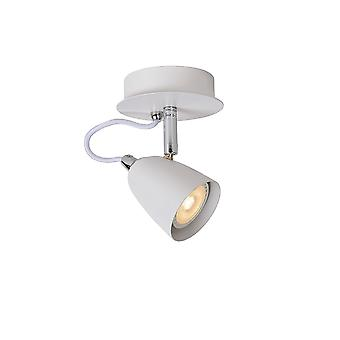 Lucide Ride Bistro LED Wall Light White