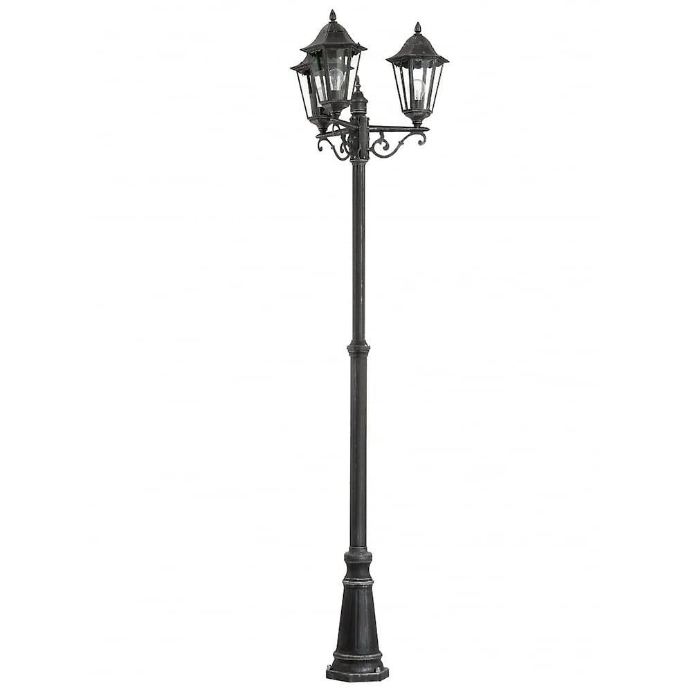EGLO Navedo 1 borne extérieure lumineuse lampe noir IP44