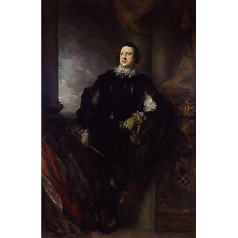 Thomas Gainsborough - Charles Howard 11th Poster Print Giclee