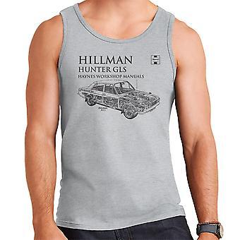 Haynes Workshop manuell 0033 Hillman Hunter GLS svart menn Vest
