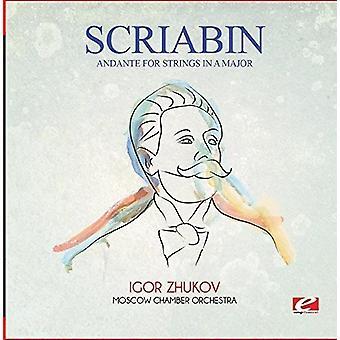 Skrjabin - Andante für Streicher in einem großen [CD] USA import