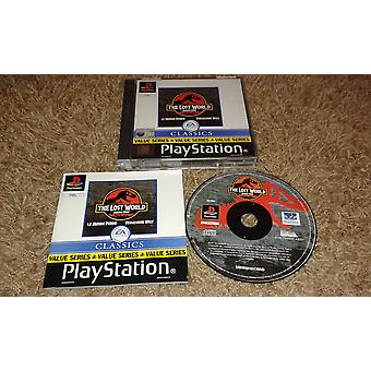 The Lost World: Jurassic Park (PS1)