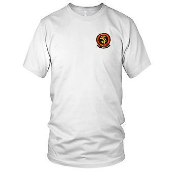 USMC Marines HMM-262 - MAG 36 Billy Bastards - Military Vietnam War Embroidered Patch - Ladies T Shirt