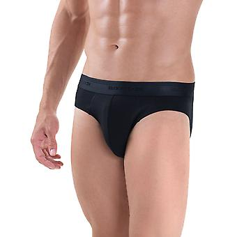 BlackSpade Mood Lite Black Modal Cotton Mens Briefs 2 Pack M9322