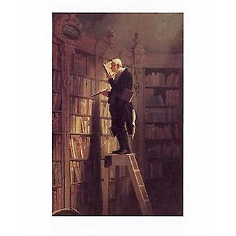 Bücherwurm Poster Print von Carl Spitzweg (16 x 20)