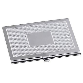 Orton West Engraved Card Case - Silver