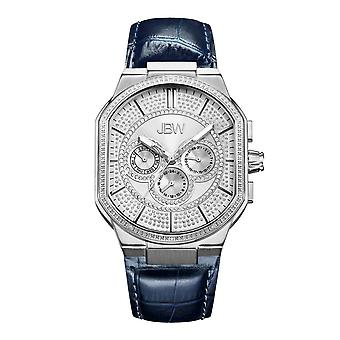 JBW diamond men's stainless Watch - Silver / navy