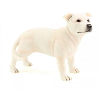 Staffordshire Standing Bull Terrier Dog Figurine