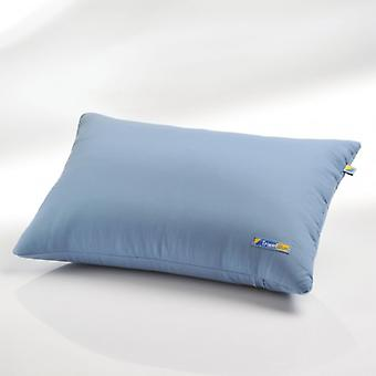 Inflatable pillow with a Microfiber cover. (Ultimate Rest)
