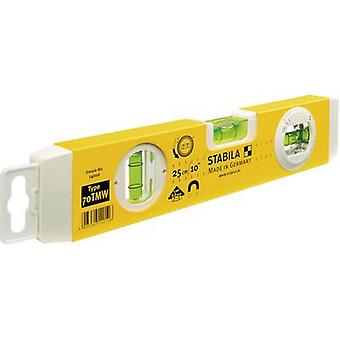 Spirit level 25 cm Stabila 70 TMW