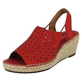 Ladies Clarks Slingback Wedge Sandals Petrina Gail
