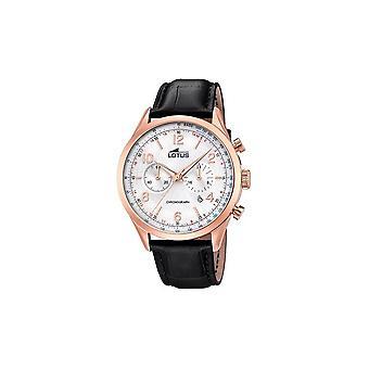 Cronógrafo LOTUS - casual elegante de los hombres reloj de pulsera - 18558/2-