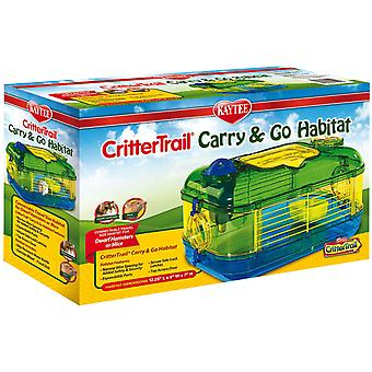 Kaytee Jaula Crittertrail Carry & Go (Small pets , Cages and Parks)