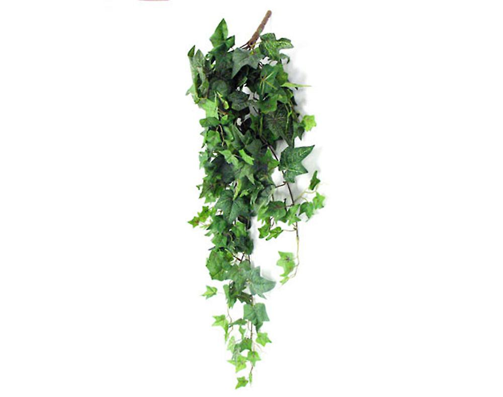 Large Artificial Flocked Trailing Ivy Spray for Christmas Floristry Crafts