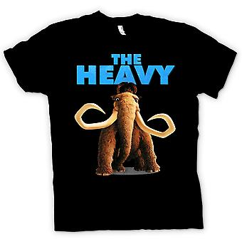 Mens T-shirt - Ice Age - Manny The Heavy