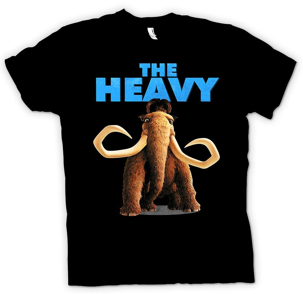 Womens T-shirt - Ice Age - Manny The Heavy
