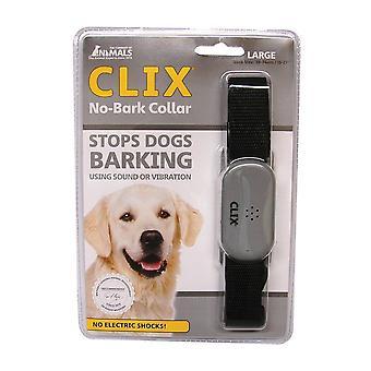 Selskab med dyr Clix No gø hund krave, Large