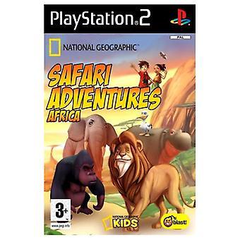 Safari avonturen Afrika (PS2)