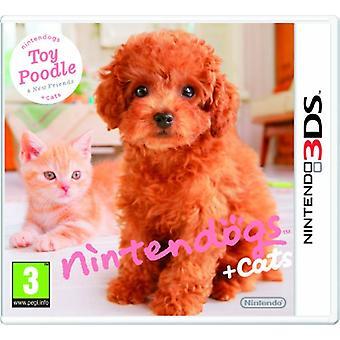 Nintendogs  Cats - Toy Poodle  New Friends (Nintendo 3DS)