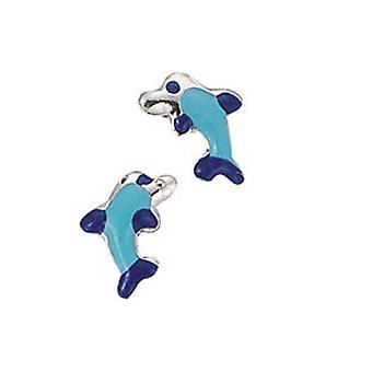 الكشافة الأطفال أقراط الإذن قطع فضية الدلفين الأزرق فتاة 262003100