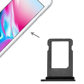SIM tarjeta adaptador SIM bandeja para Apple iPhone 8 4.7 negro / gris