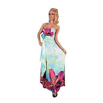 Waooh - Mode - Lange bloempatroon jurk
