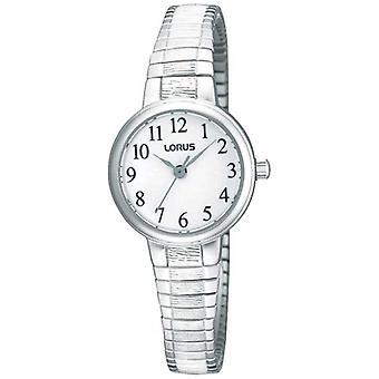 Lorus Ladies' stål Expander armband RG239NX9 klocka