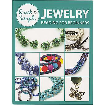 Leisure Arts-Jewelry Beading For Beginners