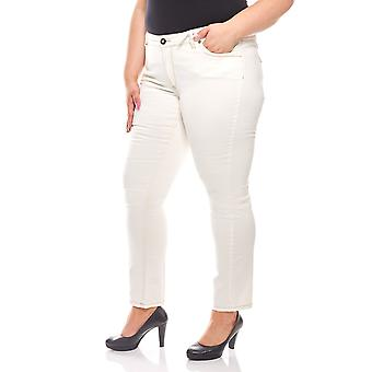 Trend jeans women plus size travel Couture white