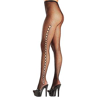 Be Wicked BW692 Seamless spandex fishnet pantyhose