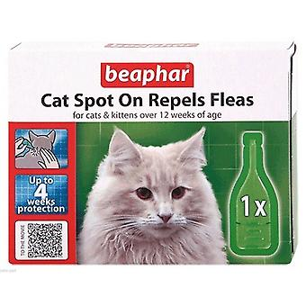 Beaphar Cat Spot On Repels Fleas for Cats and Kittens
